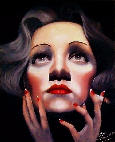 Marlene Dietrich by Mklanglo